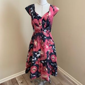 Tracy Reese Floral Paintbrush Dress Anthropologie